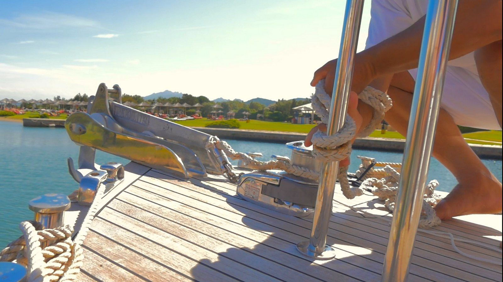 Suite & Boat, Hotel Cala di Volpe, on the boat