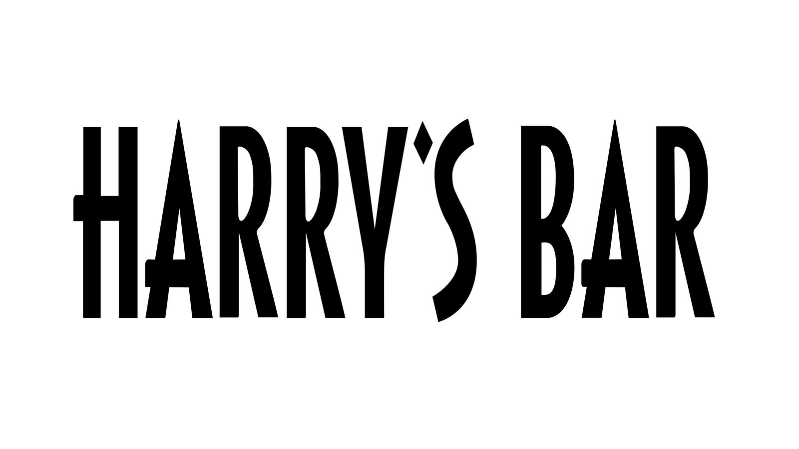 harry's bar logo