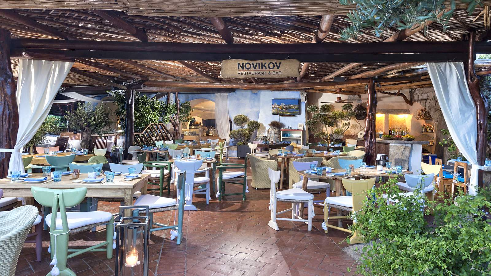 Novikov For Cala Di Volpe Restaurant