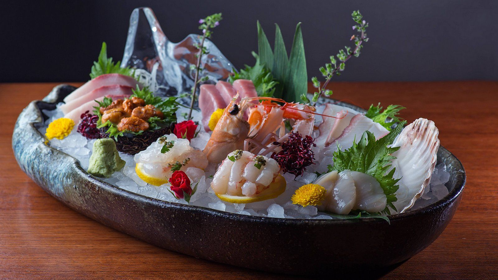 Novikov For Cala Di Volpe Restaurant - Sashimi Selection